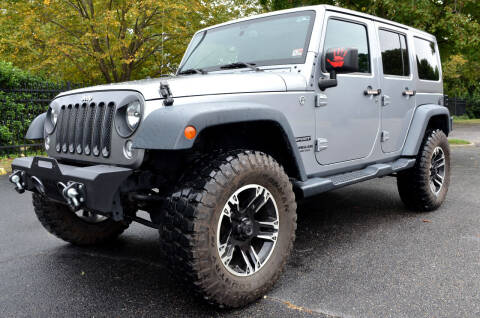 2015 Jeep Wrangler Unlimited for sale at Wheel Deal Auto Sales LLC in Norfolk VA
