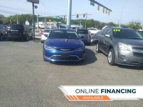 2016 Chrysler 200 for sale at Marino's Auto Sales in Laurel DE