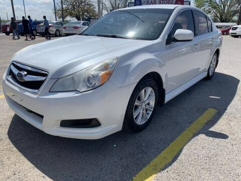 2012 Subaru Legacy for sale at The Kar Store in Arlington TX