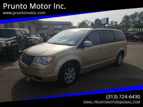 2010 Chrysler Town and Country for sale at Prunto Motor Inc. in Dearborn MI