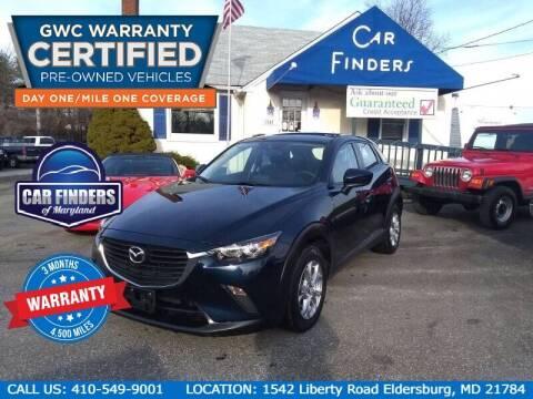 2017 Mazda CX-3 for sale at CAR FINDERS OF MARYLAND LLC in Eldersburg MD