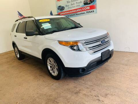 2015 Ford Explorer for sale at Antonio's Auto Sales - Antonio`s  3001 in Pasadena TX