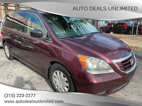 2008 Honda Odyssey for sale at AUTO DEALS UNLIMITED in Philadelphia PA