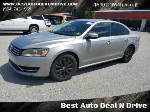 2014 Volkswagen Passat for sale at Best Auto Deal N Drive in Hollywood FL