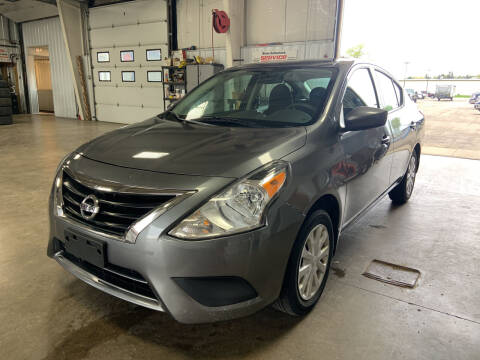 2016 Nissan Versa for sale at Blake Hollenbeck Auto Sales in Greenville MI