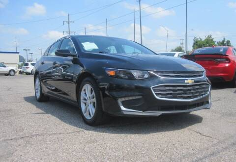 2017 Chevrolet Malibu for sale at T & D Motor Company in Bethany OK