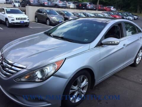 2013 Hyundai Sonata for sale at J & M Automotive in Naugatuck CT