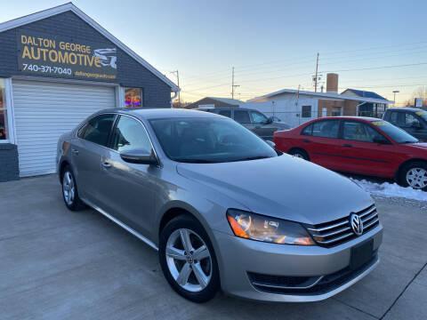 2012 Volkswagen Passat for sale at Dalton George Automotive in Marietta OH