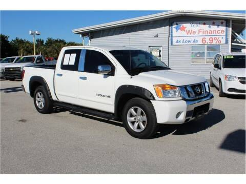 2011 Nissan Titan for sale at My Value Car Sales in Venice FL