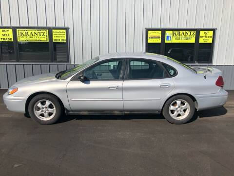 2006 Ford Taurus for sale at Krantz Motor City in Watertown SD