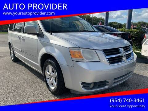 2008 Dodge Grand Caravan for sale at AUTO PROVIDER in Fort Lauderdale FL