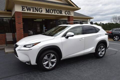 2017 Lexus NX 200t for sale at Ewing Motor Company in Buford GA