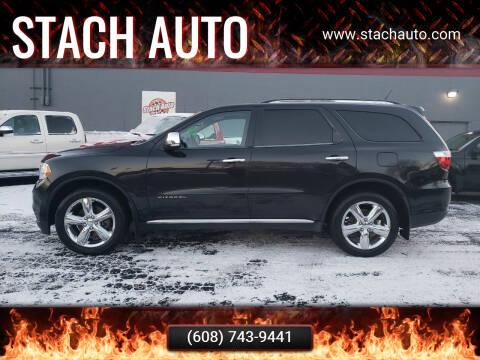 2012 Dodge Durango for sale at Stach Auto in Janesville WI