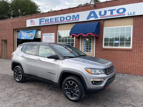 2019 Jeep Compass for sale at FREEDOM AUTO LLC in Wilkesboro NC