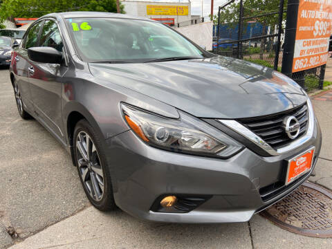 2016 Nissan Altima for sale at TOP SHELF AUTOMOTIVE in Newark NJ