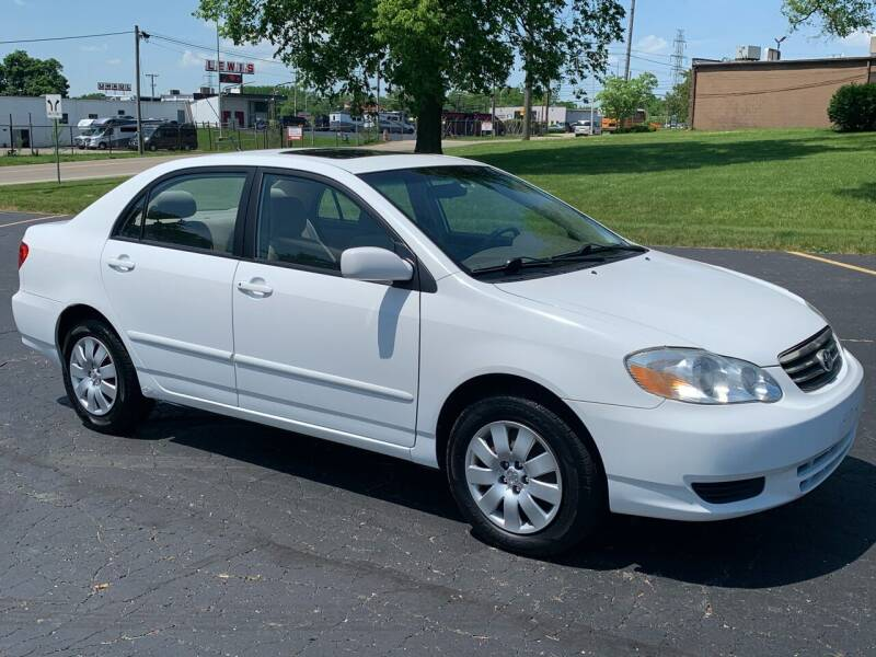 2003 Toyota Corolla for sale at Dittmar Auto Dealer LLC in Dayton OH