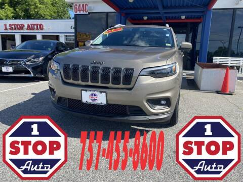 2019 Jeep Cherokee for sale at 1 Stop Auto in Norfolk VA