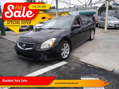 2007 Nissan Maxima for sale at Blackbull Auto Sales in Ozone Park NY