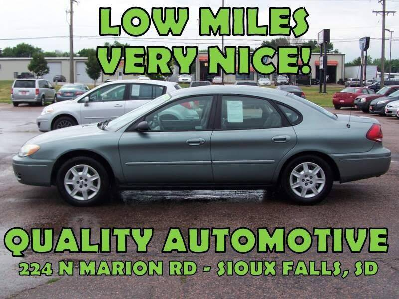 2007 Ford Taurus for sale at Quality Automotive in Sioux Falls SD