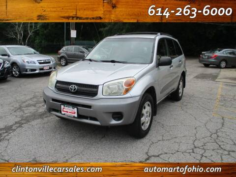 2004 Toyota RAV4 for sale at Clintonville Car Sales - AutoMart of Ohio in Columbus OH