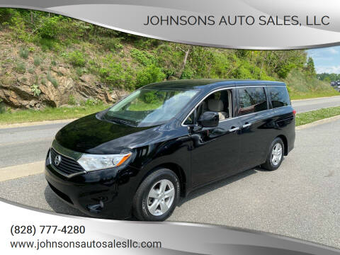 2013 Nissan Quest for sale at Johnsons Auto Sales, LLC in Marshall NC