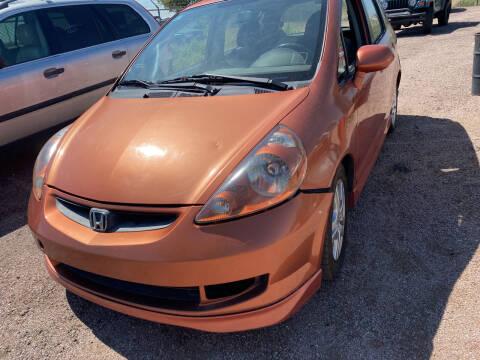 2008 Honda Fit for sale at PYRAMID MOTORS - Pueblo Lot in Pueblo CO