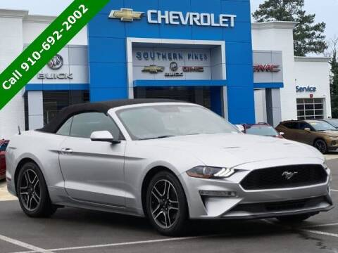 2018 Ford Mustang for sale at PHIL SMITH AUTOMOTIVE GROUP - SOUTHERN PINES GM in Southern Pines NC