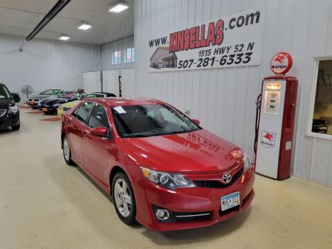 2012 Toyota Camry for sale at Kinsellas Auto Sales in Rochester MN