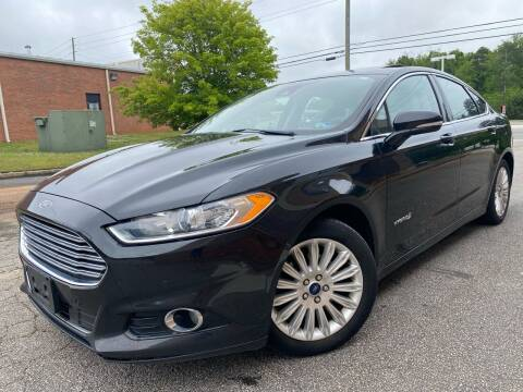 2015 Ford Fusion Hybrid for sale at Gwinnett Luxury Motors in Buford GA