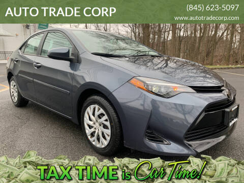 2018 Toyota Corolla for sale at AUTO TRADE CORP in Nanuet NY