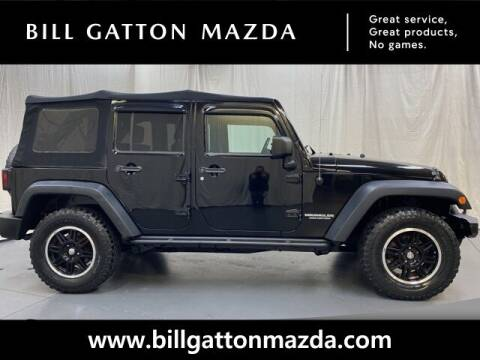 2009 Jeep Wrangler Unlimited for sale at Bill Gatton Used Cars - BILL GATTON ACURA MAZDA in Johnson City TN