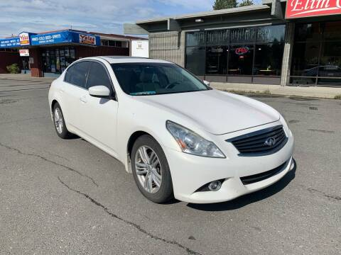 2013 Infiniti G37 Sedan for sale at Freedom Auto Sales in Anchorage AK