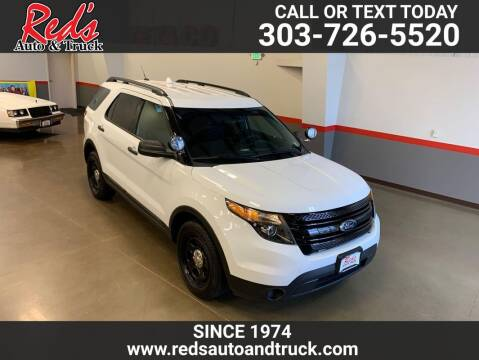 2014 Ford Explorer for sale at Red's Auto and Truck in Longmont CO