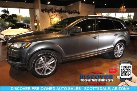 2015 Audi Q7 for sale at Discover Pre-Owned Auto Sales in Scottsdale AZ