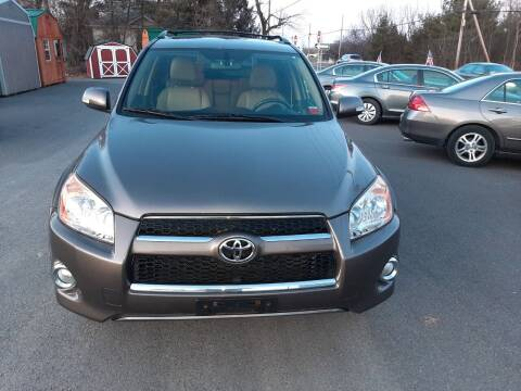2010 Toyota RAV4 for sale at GREENPORT AUTO in Hudson NY