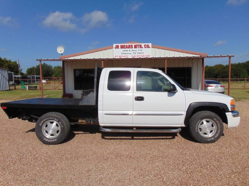 2004 GMC Sierra 1500 for sale at Jacky Mears Motor Co in Cleburne TX