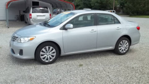2013 Toyota Corolla for sale at MIKE'S CYCLE & AUTO in Connersville IN