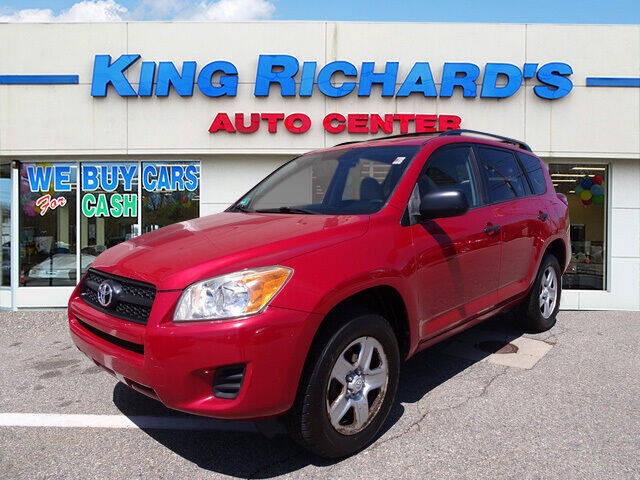 2010 Toyota RAV4 for sale at KING RICHARDS AUTO CENTER in East Providence RI