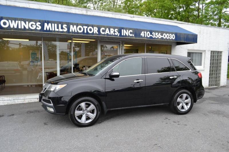 2011 Acura MDX for sale at Owings Mills Motor Cars in Owings Mills MD