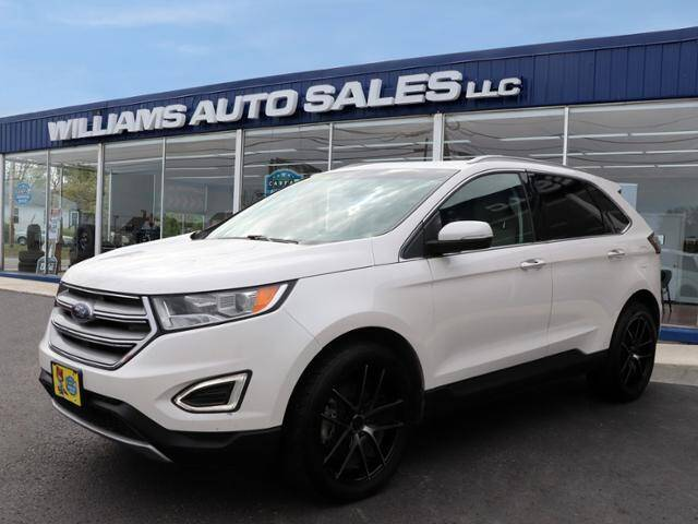 2016 Ford Edge for sale at Williams Auto Sales, LLC in Cookeville TN
