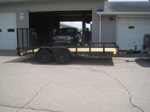 2021 Liberty 83 IN X 16 FT UTILITY TRAILER for sale at G T AUTO PLAZA Inc in Pearl City IL