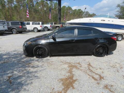2015 Toyota Corolla for sale at Ward's Motorsports in Pensacola FL