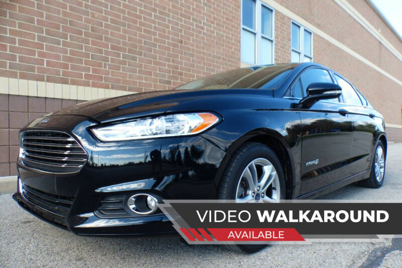 2016 Ford Fusion Hybrid for sale at Macomb Automotive Group in New Haven MI