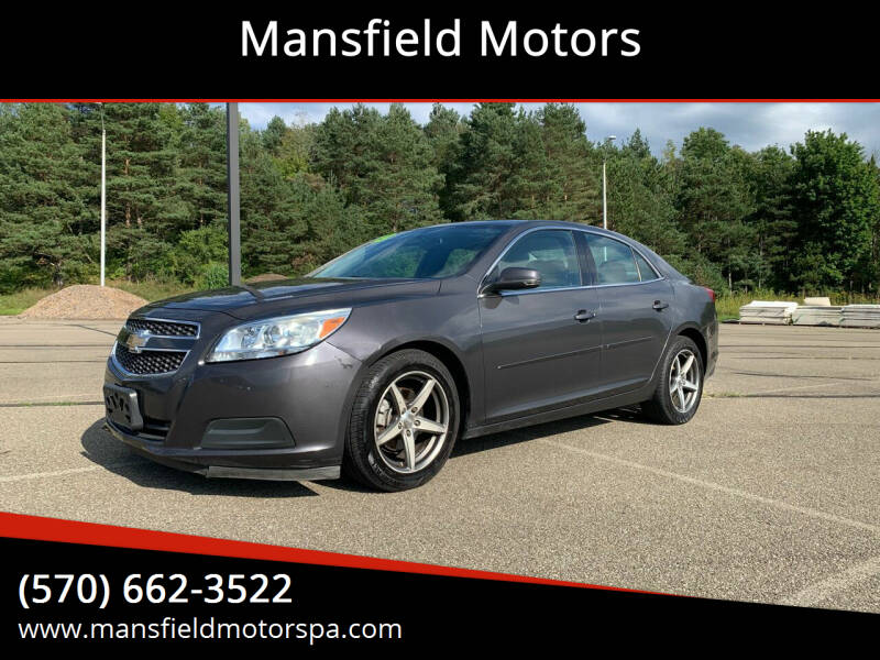 2013 Chevrolet Malibu for sale at Mansfield Motors in Mansfield PA