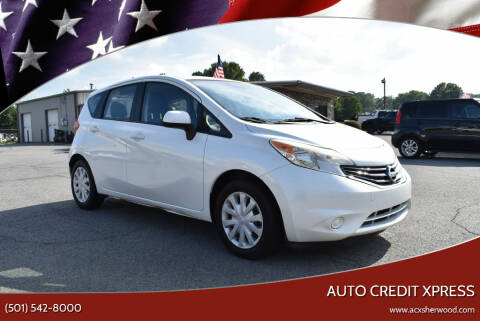 2014 Nissan Versa Note for sale at Auto Credit Xpress in North Little Rock AR