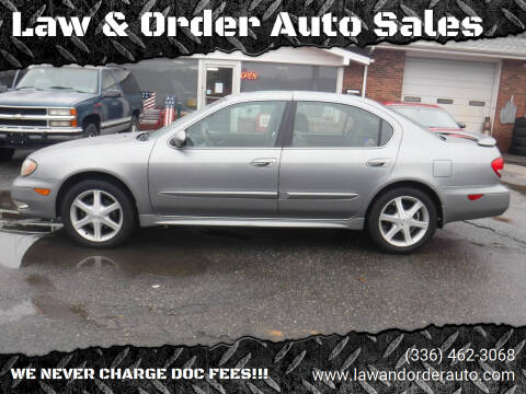 2004 Infiniti I35 for sale at Law & Order Auto Sales in Pilot Mountain NC