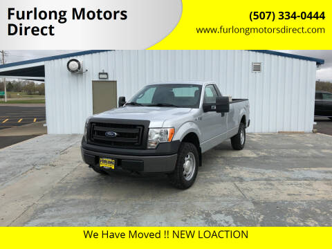 2013 Ford F-150 for sale at Furlong Motors Direct in Faribault MN
