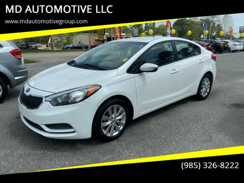 2015 Kia Forte for sale at MD AUTOMOTIVE LLC in Slidell LA