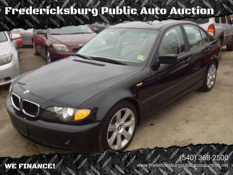 2003 BMW 3 Series for sale at FPAA in Fredericksburg VA