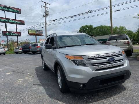 2012 Ford Explorer for sale at Boardman Auto Mall in Boardman OH